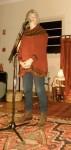 Susan Perrow telling her flood story