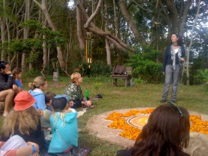 Teeya at Living Community Festival 2014